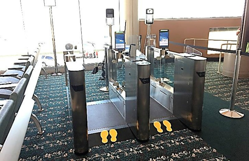 Biometric Exit Gate MCO
