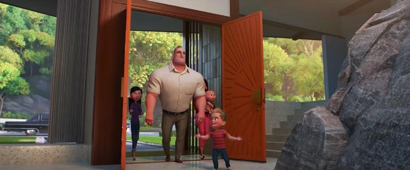 Incredibles 2 New Diggs