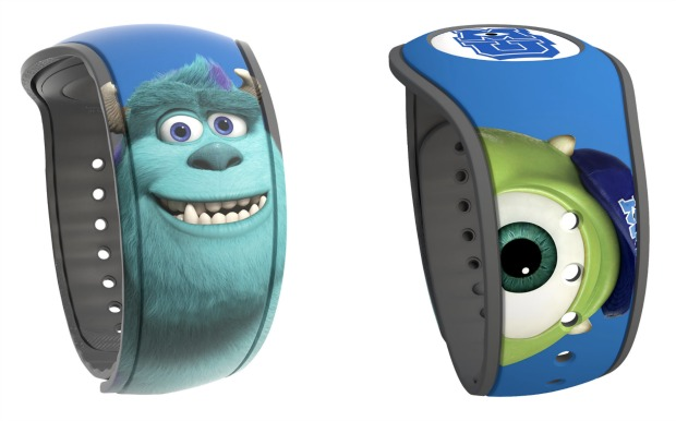 Monsters U MagicBand Collage