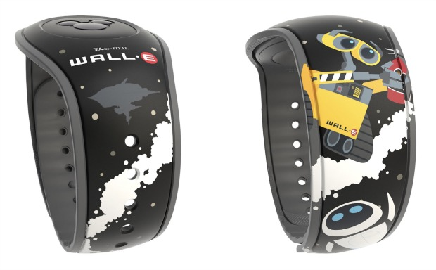 Wall E MagicBand Collage