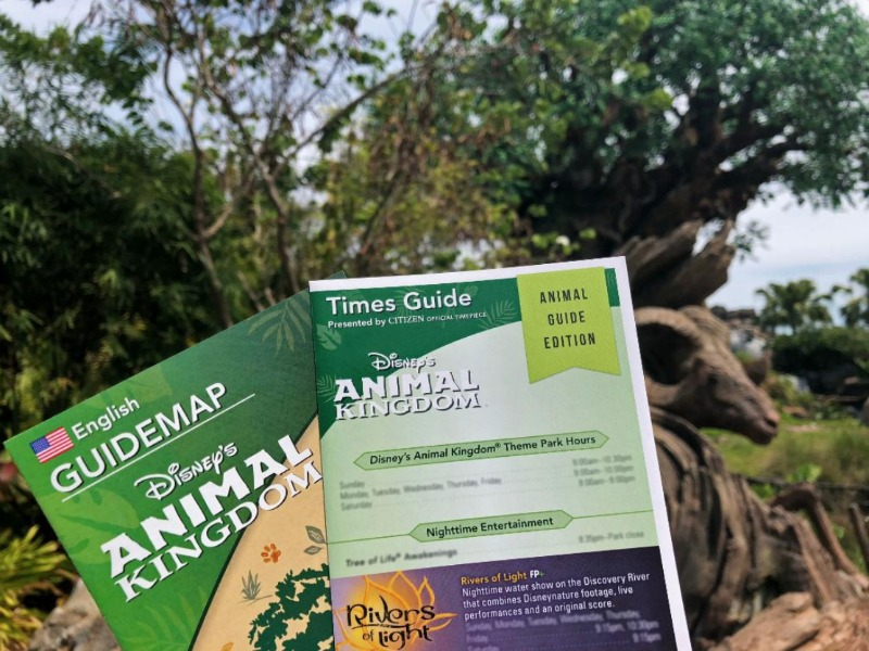 DAK Times and Animal Guide