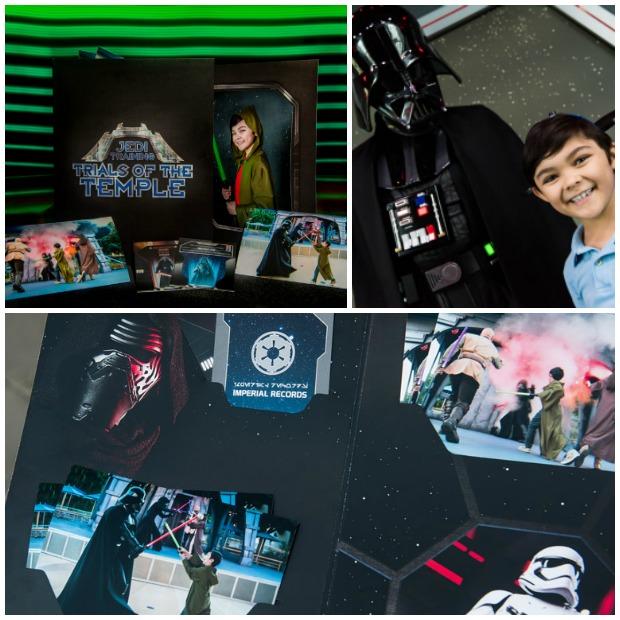 DLR Jedi Training Collage
