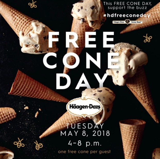 Haagen-Dazs FreeConeDay