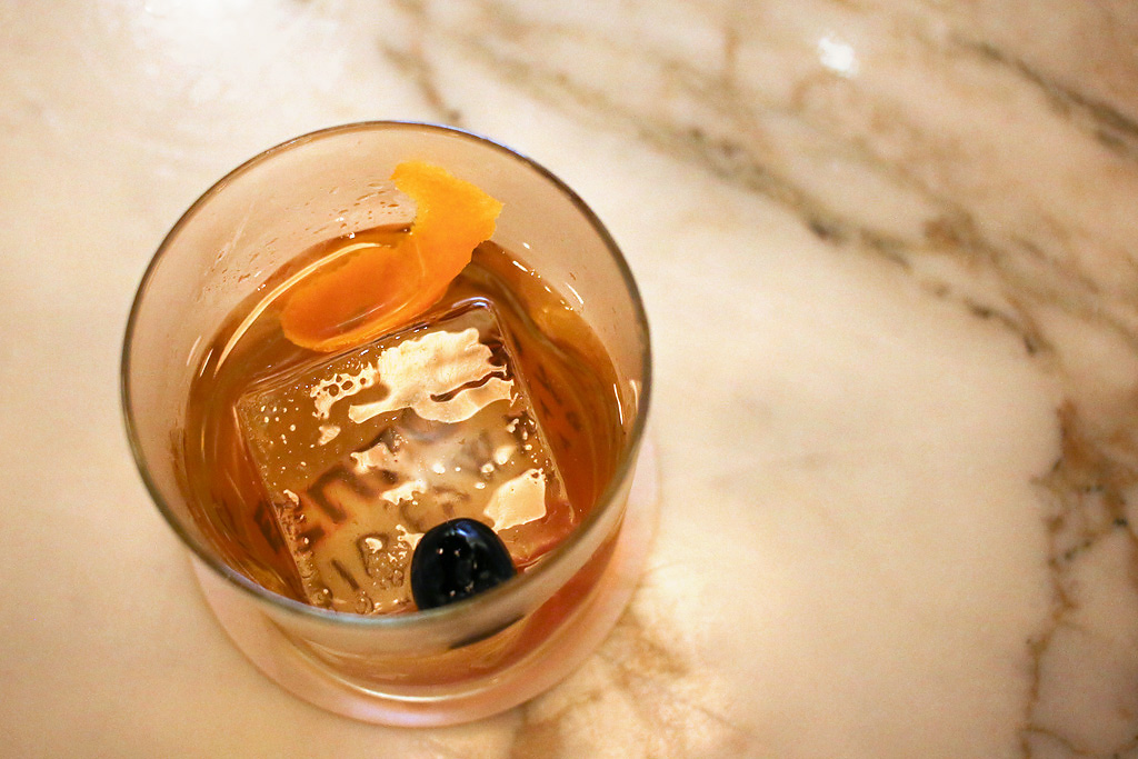 Hazelnut Old Fashioned