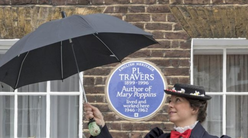 P.L. Travers Plaque