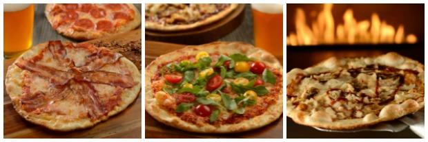 Pop Century Pizza Collage