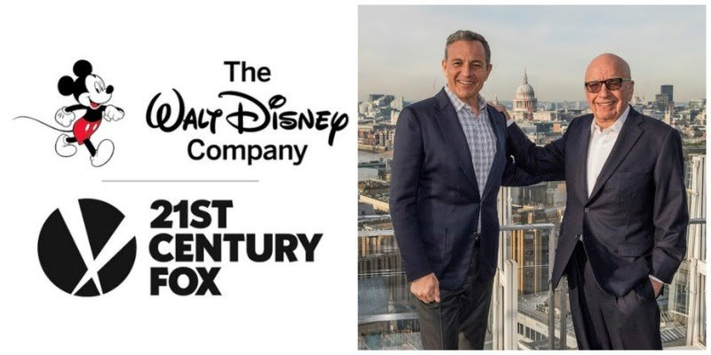 Disney Fox, Iger Murdoch