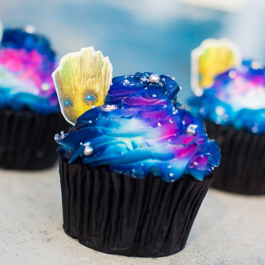 Groot Cupcake