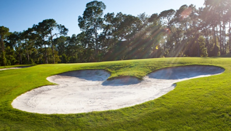 Mickey Head Golf Bunker