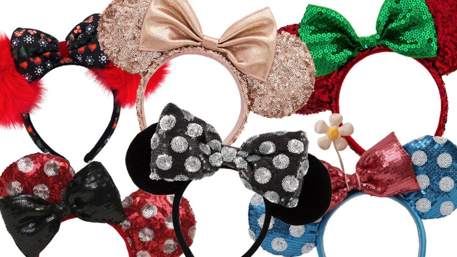 Mickey Mouse Ear Headbands