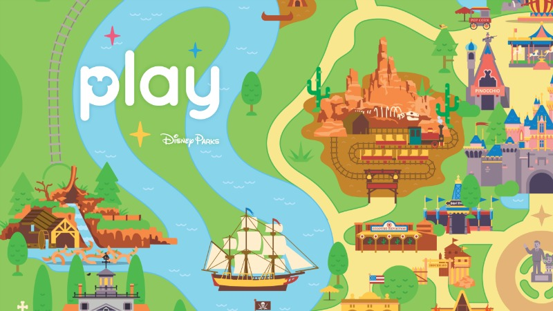 Play Disney Parks feature