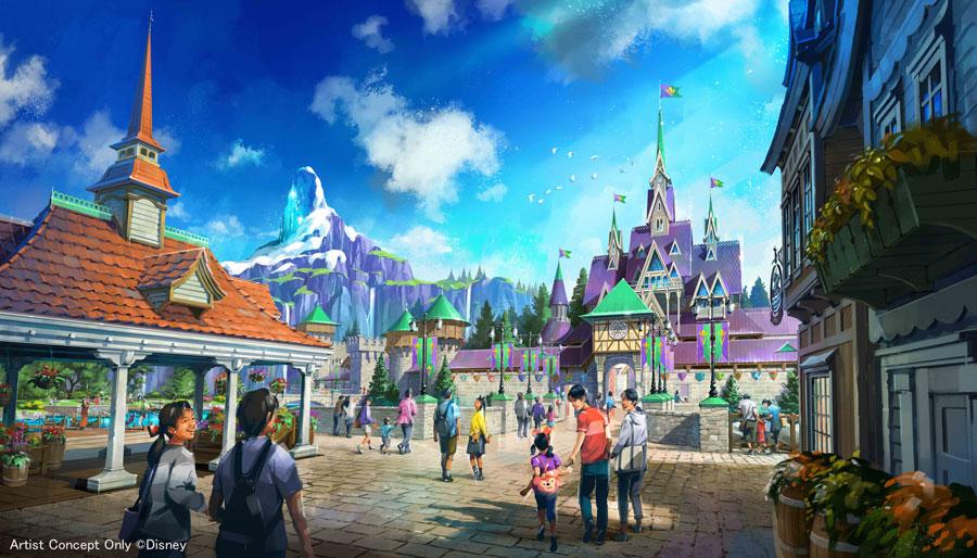 Tokyo DisneySea Arrendale