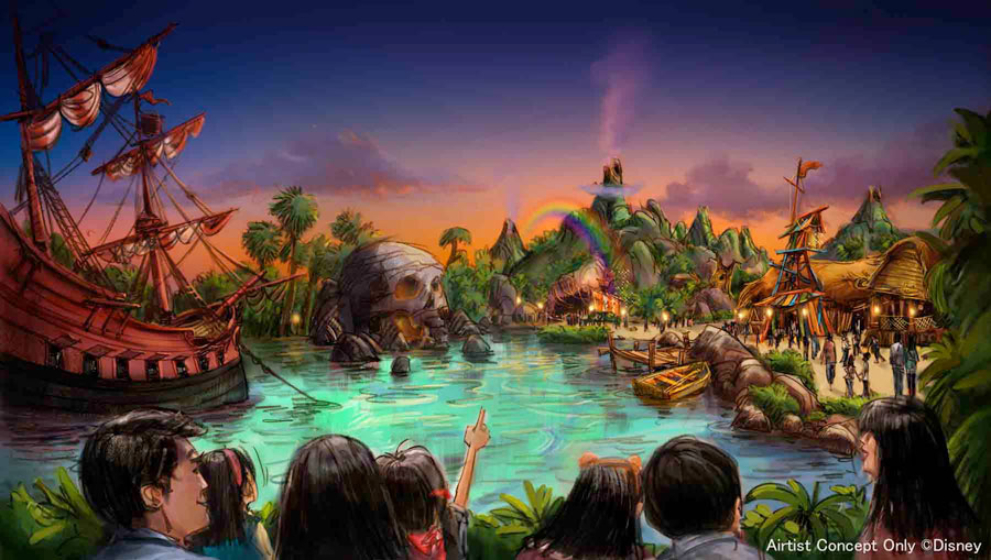 Tokyo DisneySea Neverland