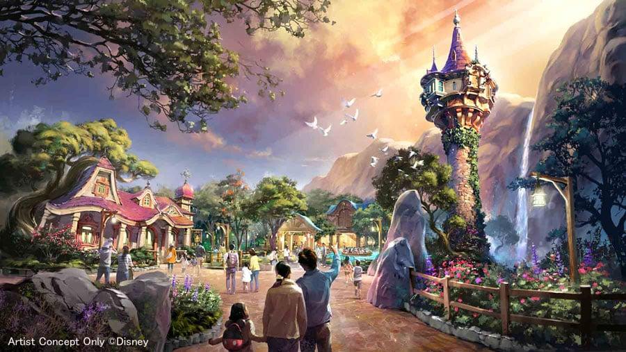 Tokyo DisneySea Rapunzel