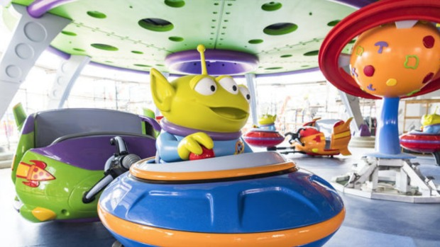 Toy Story Alien Swirling Saucers