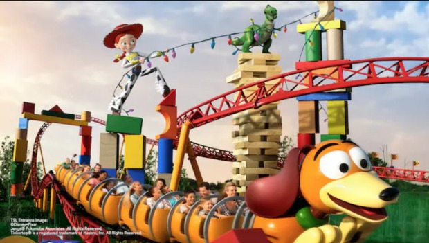 Toy Story Slinky Dog