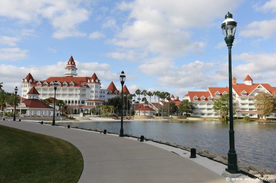 Grand Floridian Exterior