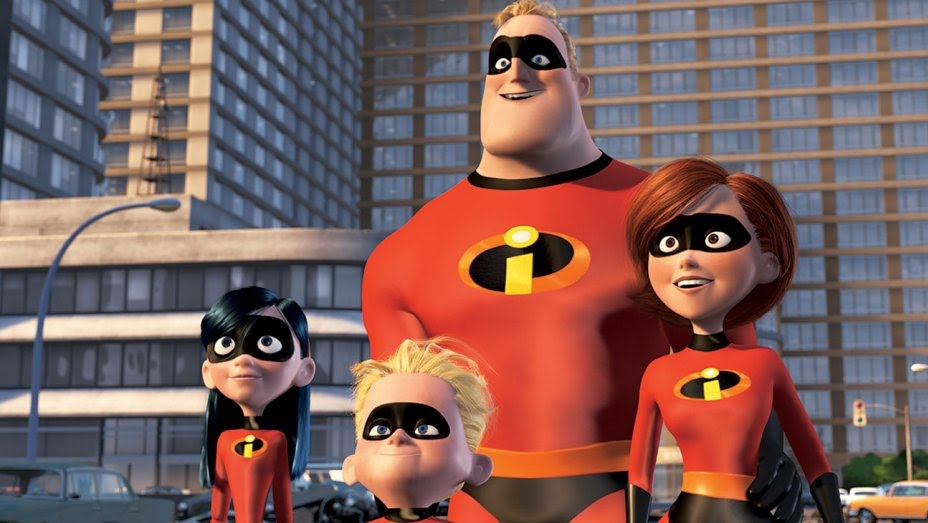 Incredibles 2 Trailer Scene
