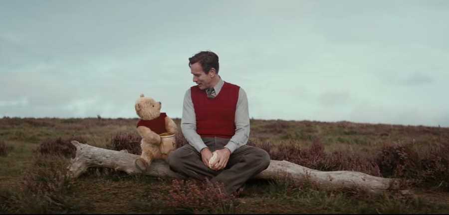 Christopher and Pooh Bear