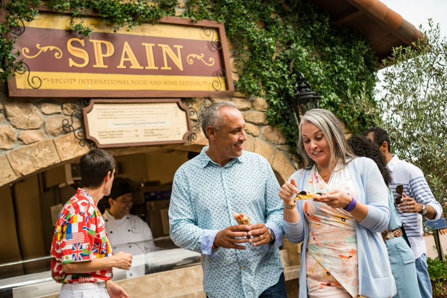 Epcot Food Wine Spain