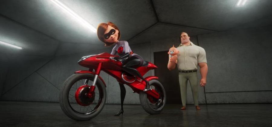 Incredibles Elastagirl Motorcycle