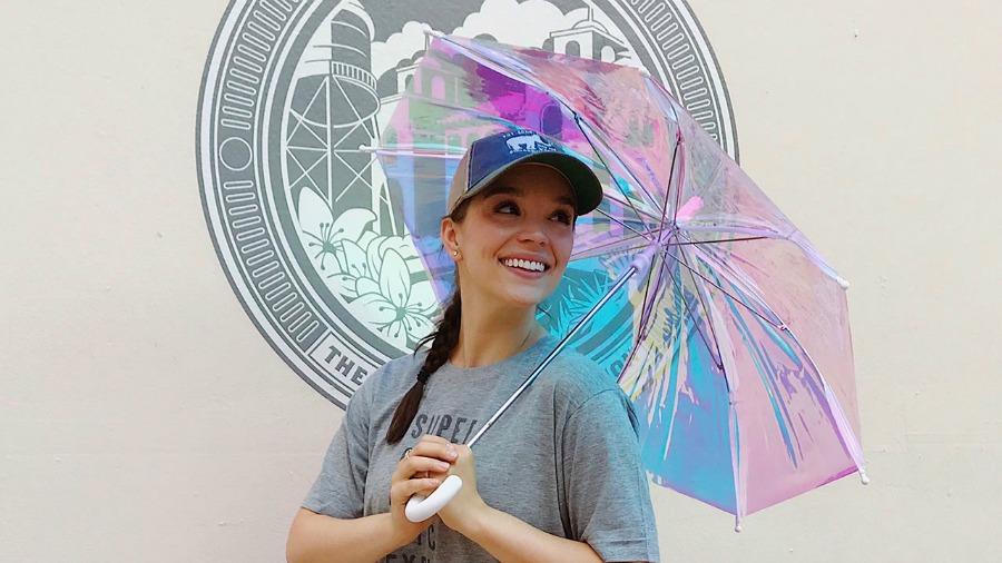 Iridescent Umbrella