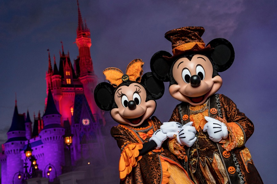 Mickey Minnie Halloween MNSSHP