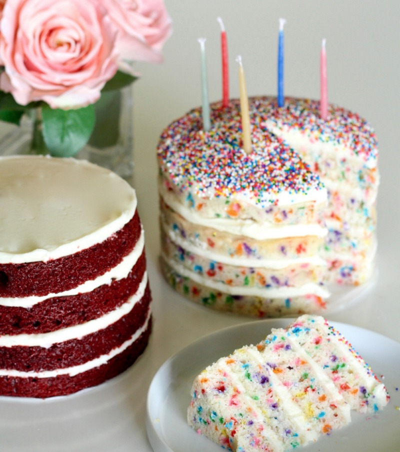 Sprinkles Layer Cakes