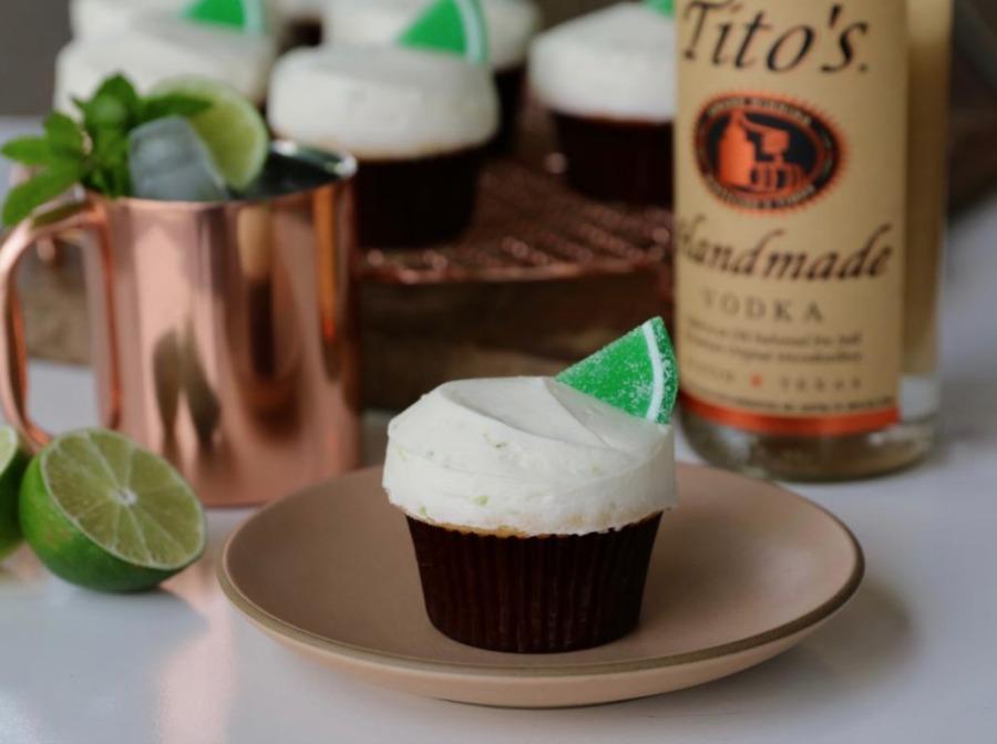 Titos American Mule Cupcake