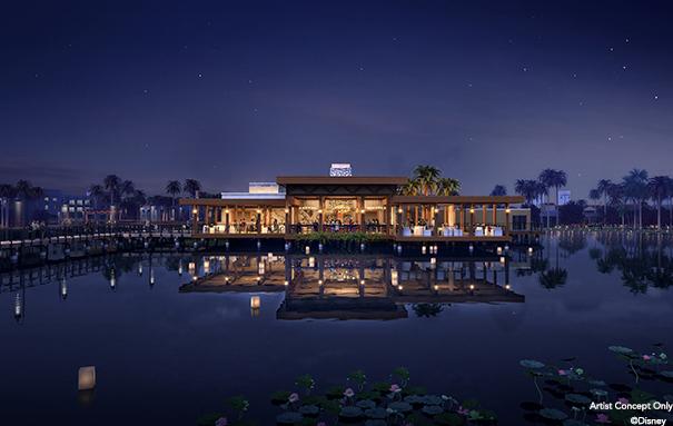 Vila del Lago Coronado Rendering Nighttime