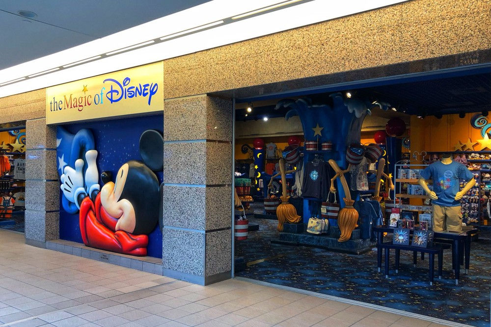 The Magic Of Disney Store At Orlando International Airport