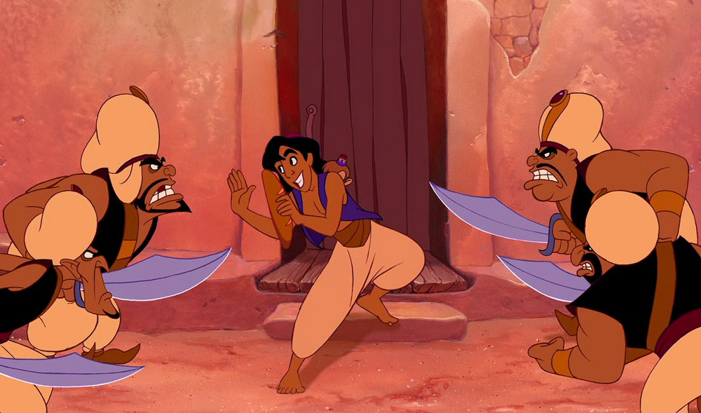 Aladdin-guards