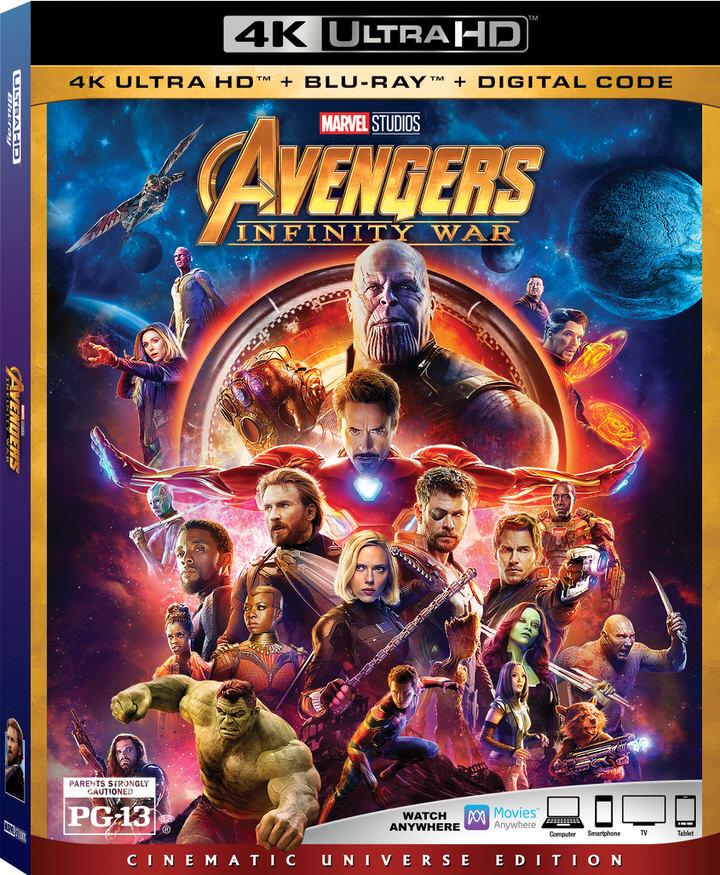 Avengers Infinity War 4K UHD Box Art-1