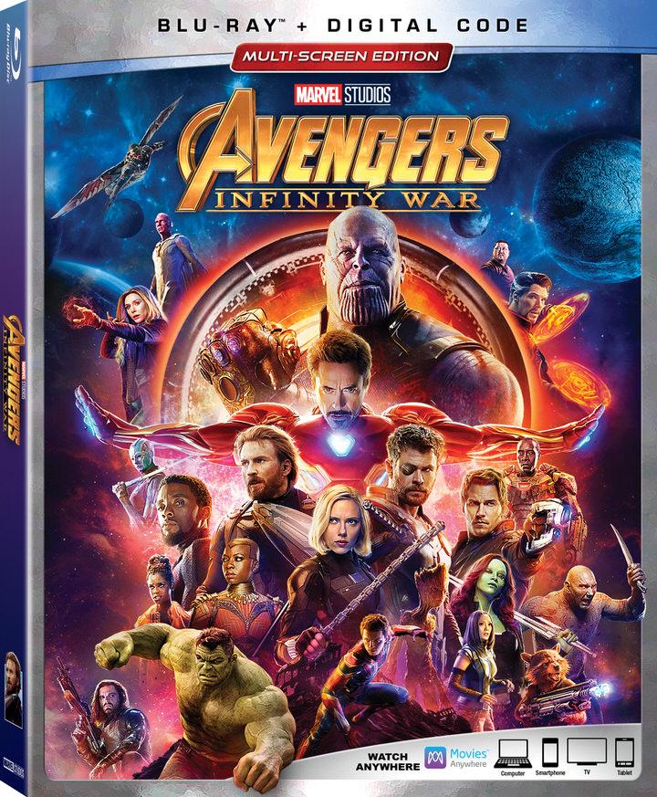 Avengers Infinity War Blu-ray Box Art-1