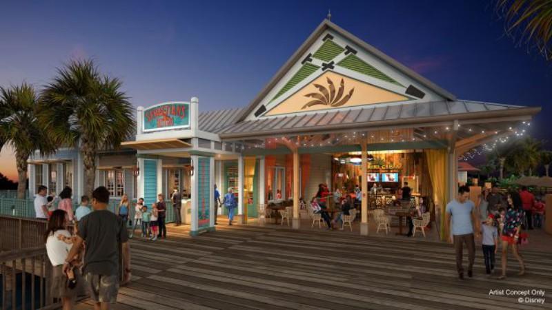 Walt Disney World Shares Details For New Restaurants At Caribbean Beach Resort