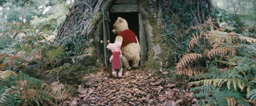 Christopher Robin Pooh Piglet