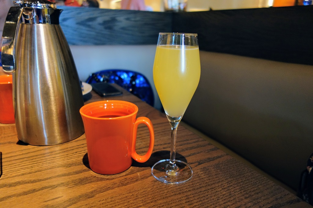 Mimosa and Coffee