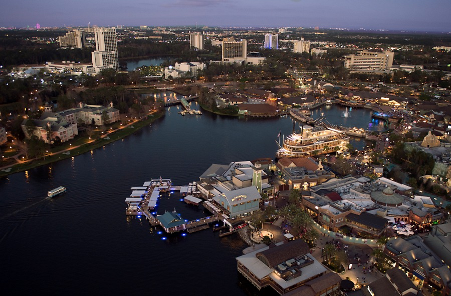 Disney Springs Aerial View