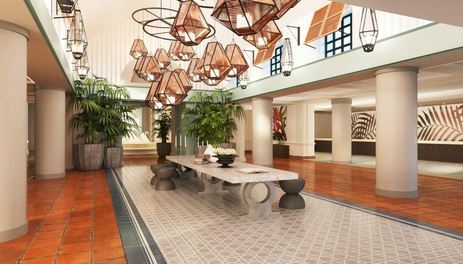 Swan Lobby Rendering_Entry Foyer