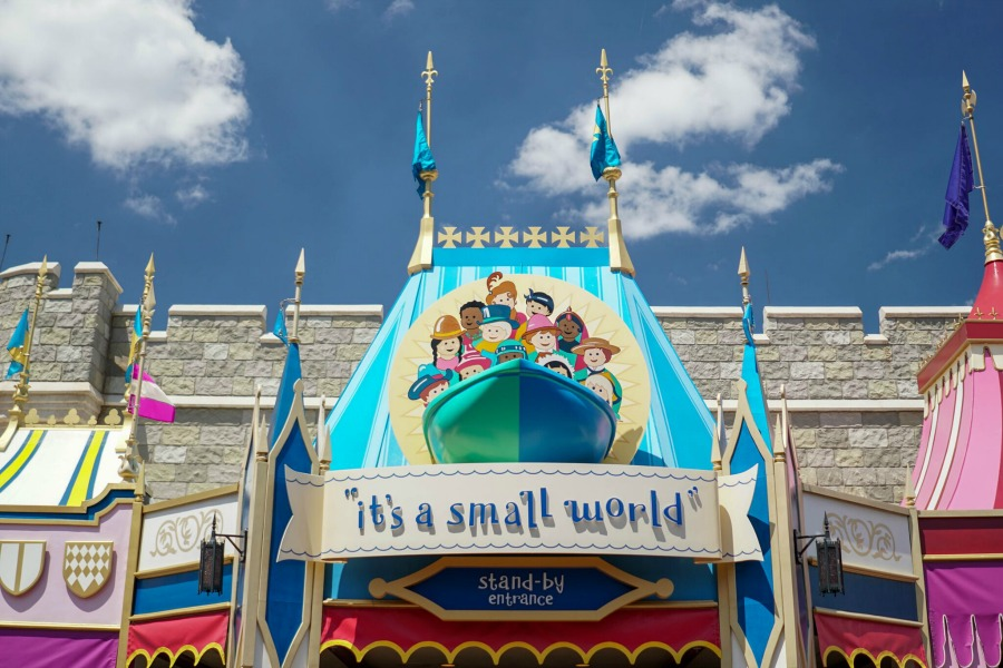 The DIS Small World