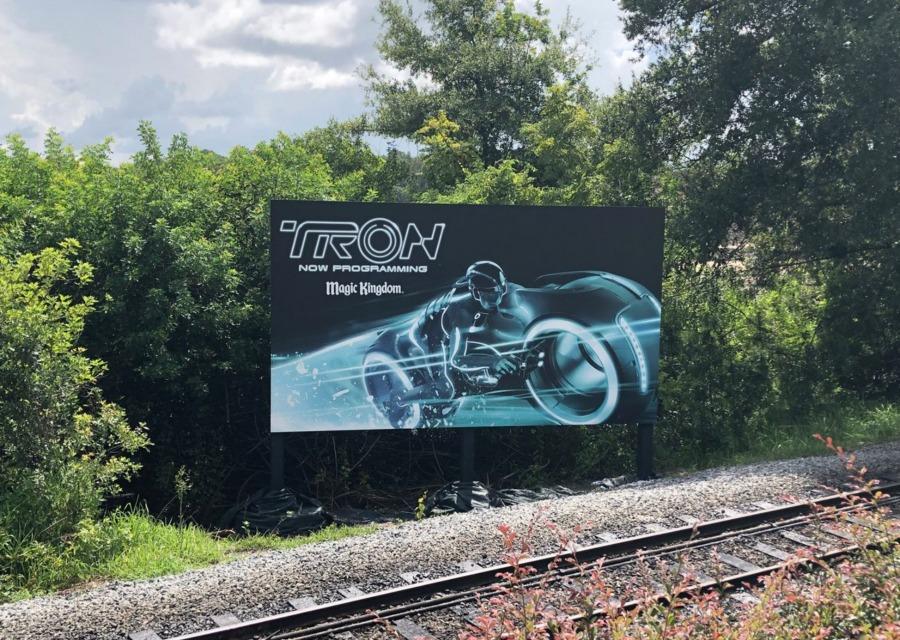 Tron Billboard MK