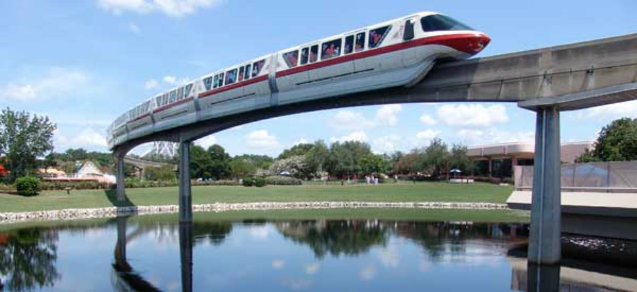 epcot-monorail