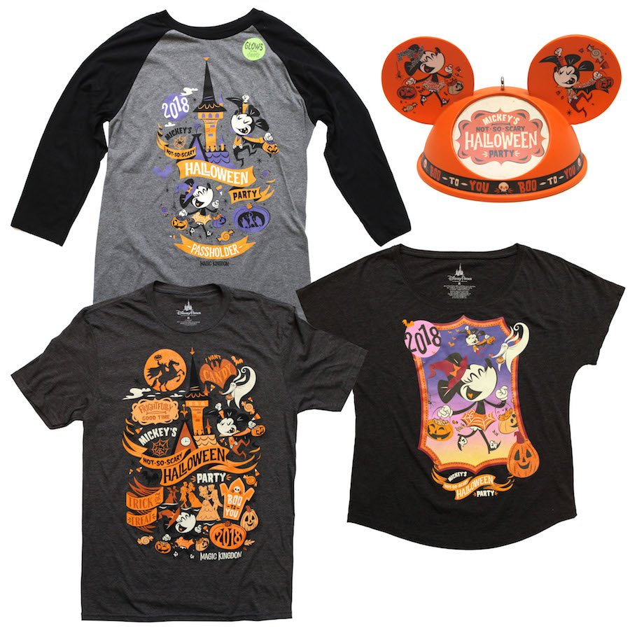cad1f98b88a21 2018 Mickey's Not-So-Scary Halloween Party Merchandise Revealed