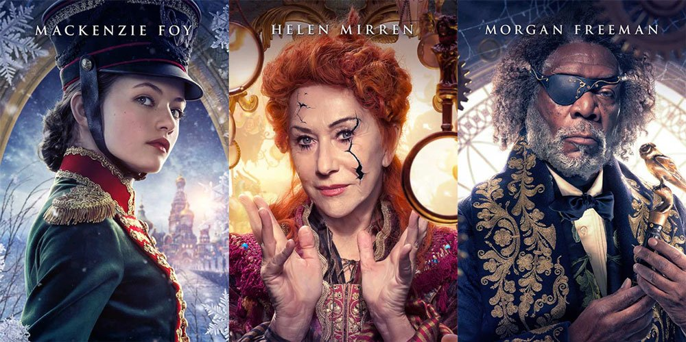 Character Posters For The Nutcracker And The Four Realms Released