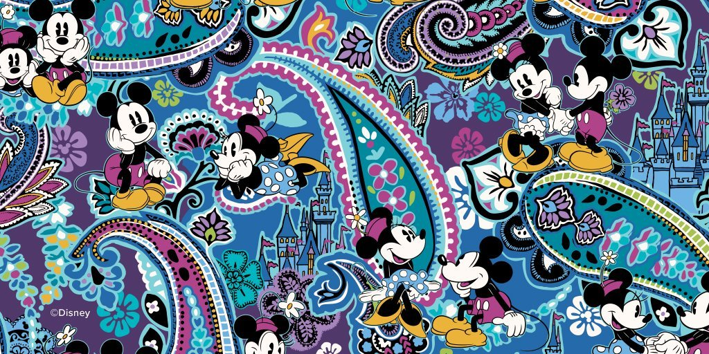 Vera Bradley just released a new Mickey and Minnie Mouse themed print. The  limited-edition print will be available starting today, September 6 at the  Disney ... bfde66f857