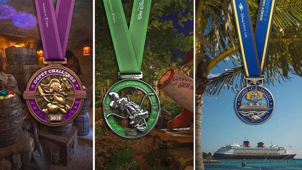 Marathon Weekend Medals