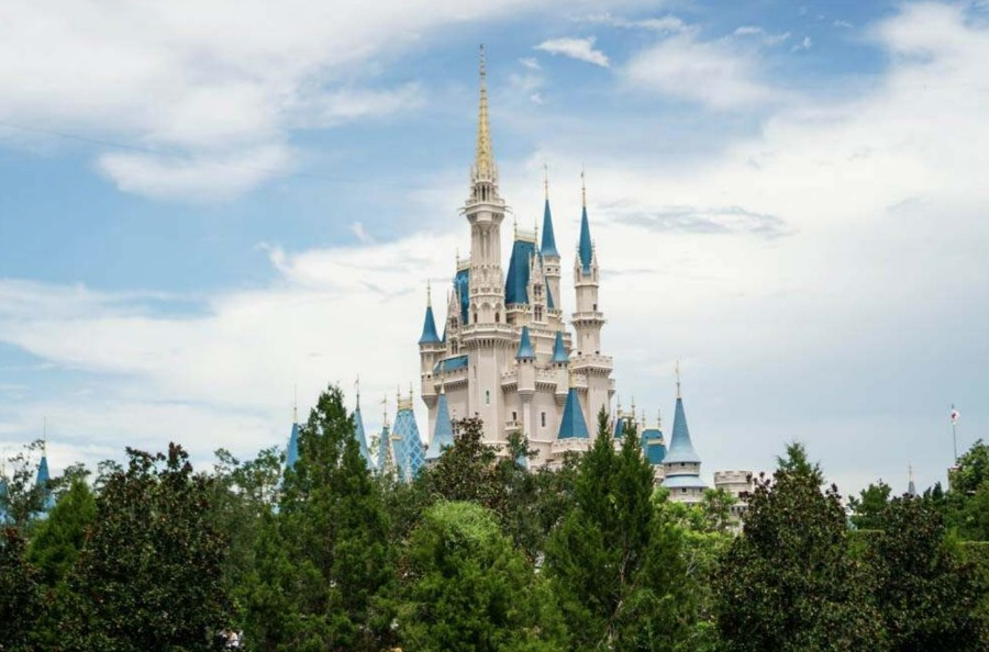 cinderella-castle-trees