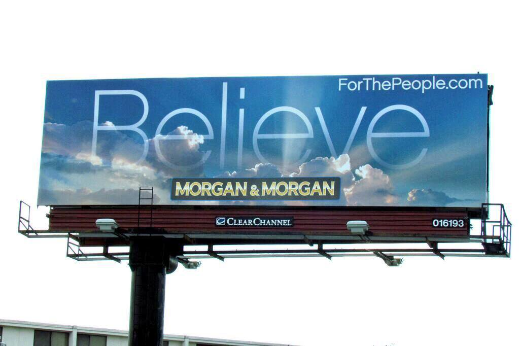 Photo from @JohnMorganESQ, founder of Morgan & Morgan law firm in Orlando.