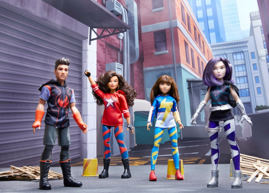 Marvel Rising Secret Warriors Line Of Toys Coming From