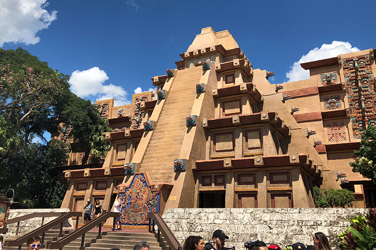 Epcot World showcase Mexico